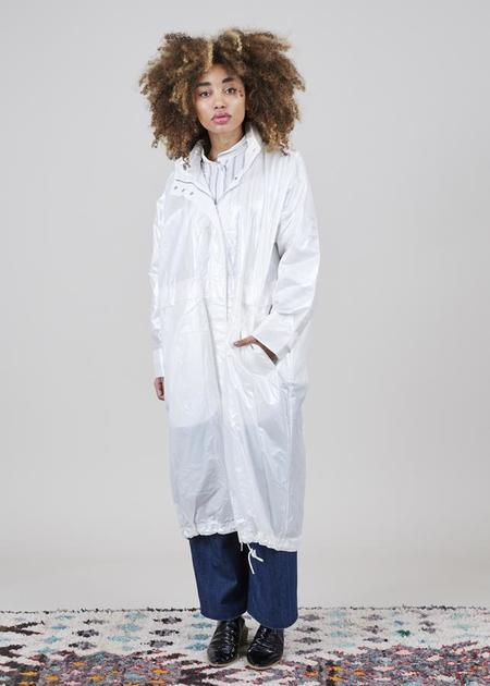 Demoo Parkchoonmoo Summer Fishtail Coat - Pearl