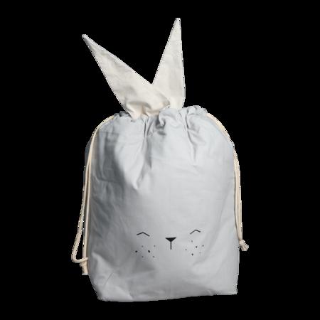 Kids Fabelab Bunny Storage Bag - gray