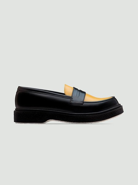 Adieu Type 5 Loafer - Black/Yellow