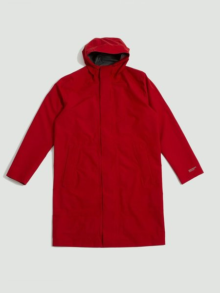 Norse Projects Harstad Shell Gore Tex Jacket - Red