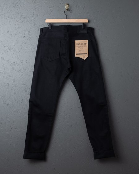 Railcar Fine Goods Railcar Spikes X026 Jeans - Double Black