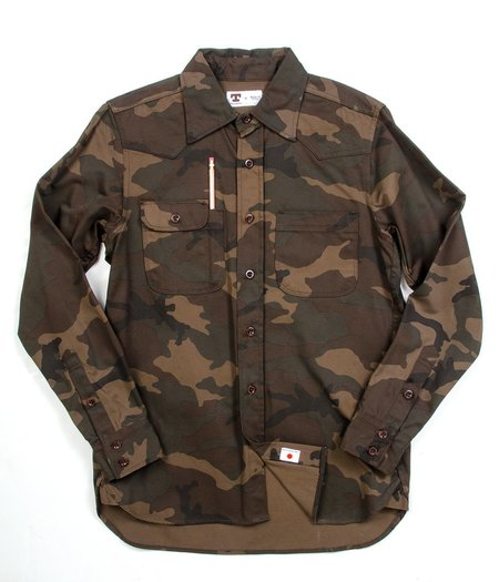 Tellason Topper Shirt - Camo