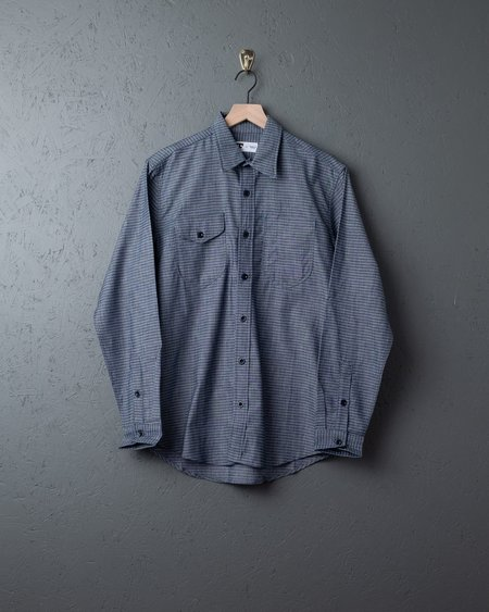 Tellason Dobby Shirt - Cone White Oak