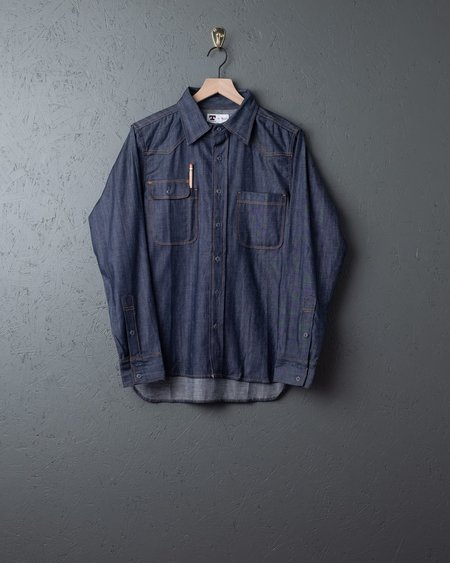 Tellason Japanese Denim Topper Shirt