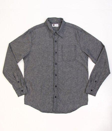 Tellason W10 Japanese Linen Cotton Shirt - Grey