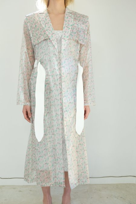 Maryam Nassir Zadeh Aphrodite Coat - lily