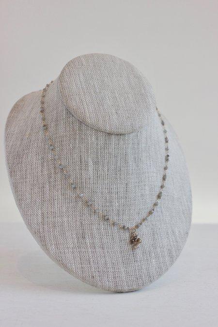 Dawn Bryfogle Diamond Necklace With Briolette Pendant