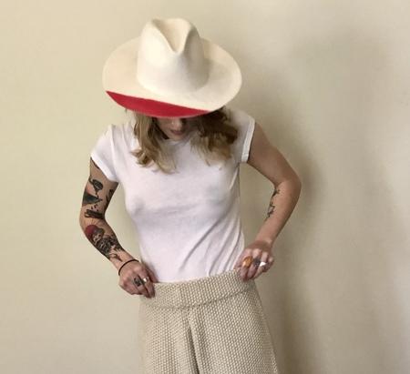 Reinhard Plank Nana hat - white