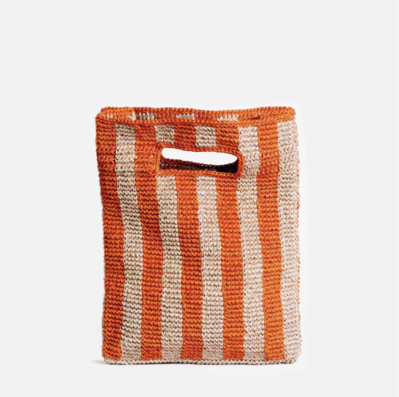 Someware Provence Bag - Blood Orange Stripe