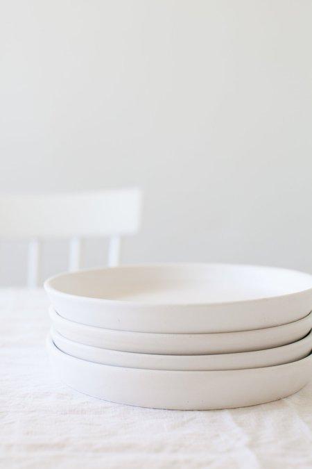 Notary Ceramics Ceramic Plate - White