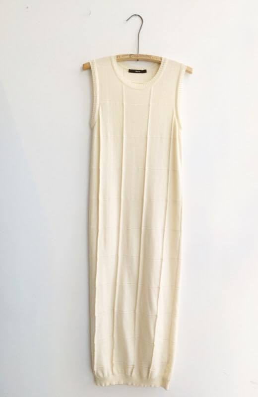 DIARTE LEAL DRESS – OFF WHITE