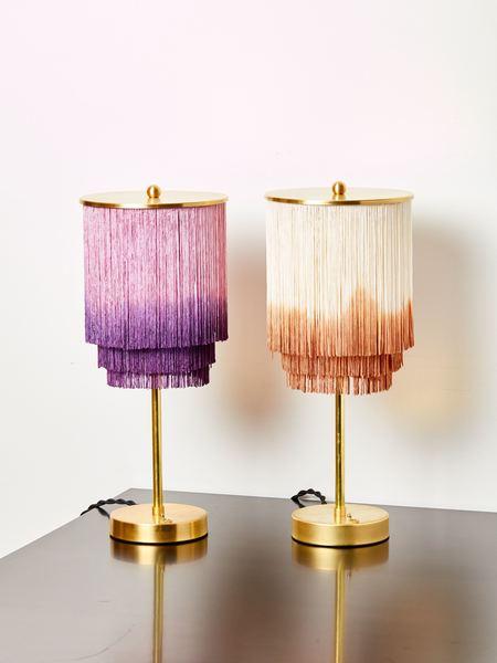 Huldra of Norway Fringe Table Lamp