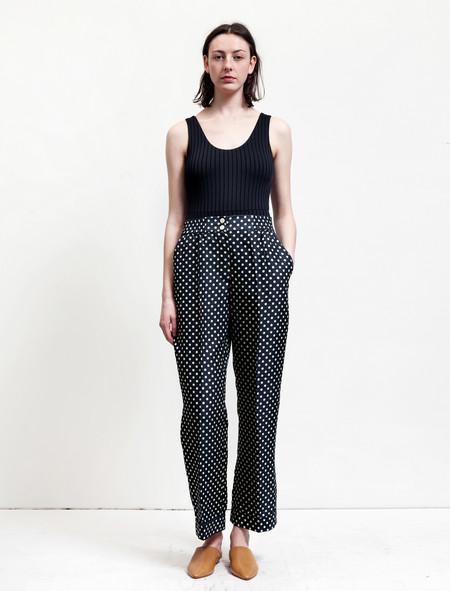 Trademark Polka Dot Silk Pant