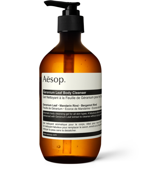 AESOP 500 mL Geranium Leaf Body Cleanser