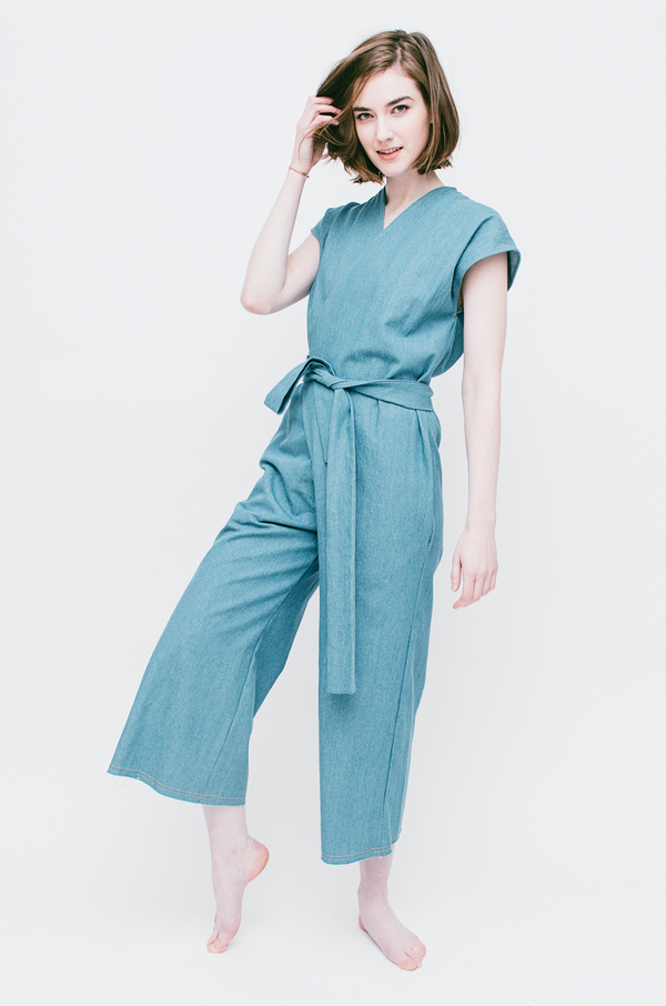 Lauren Winter Wraparound Jumpsuit | Garmentory