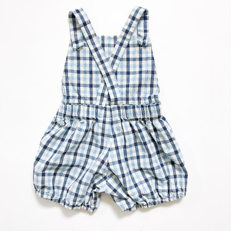 kids Hey Gang Sunsuit - Gingham
