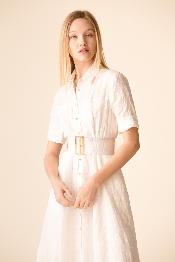 264781e6eca5 Mara Hoffman Lorelei Dress - WHITE | Garmentory