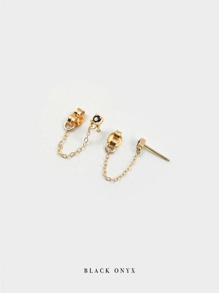 Merewif The Loner Earrings - Gold