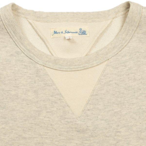 Merz b. Schwanen 346 Sweatshirt - Nature