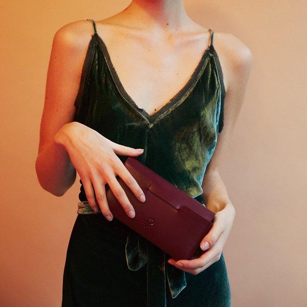 Partoem LEA - burgundy
