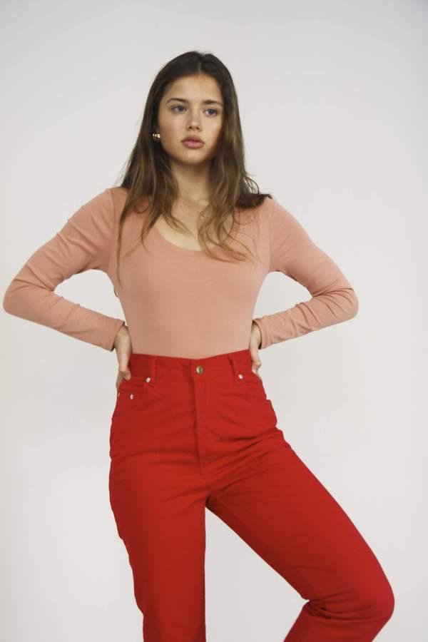 Yuka Paris Célestine Bodysuit - Blush