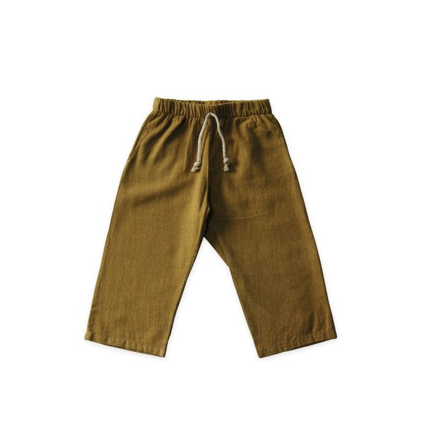 KIDS Go Gently Nation Lawn Pant - Fennel