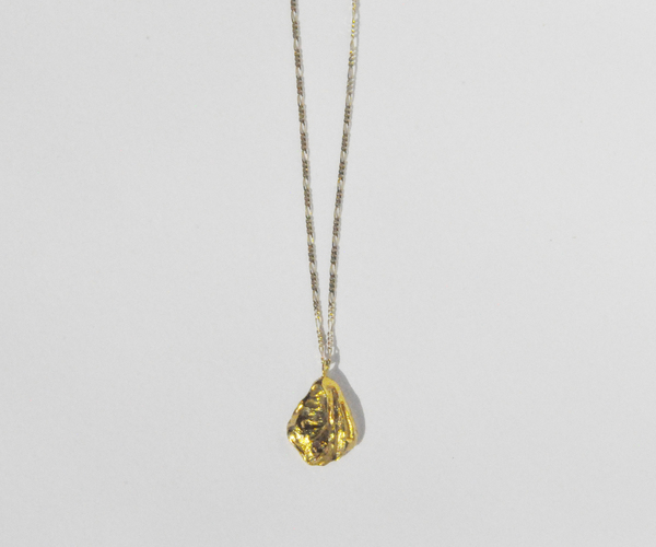 Brigitta kaki necklace