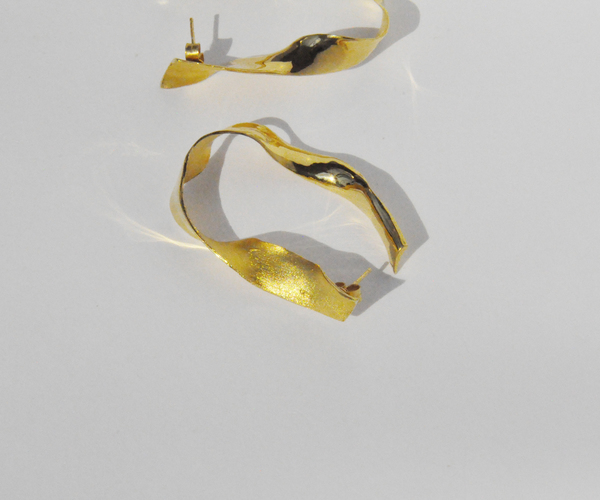 Brigitta kombu earrings