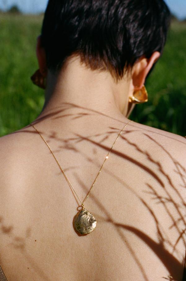 Brigitta luna necklace