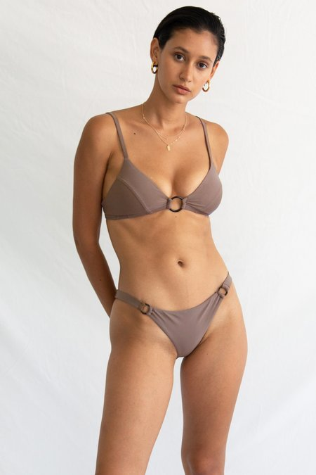 Galamaar Oh Margot Ring Top - Smoked Taupe