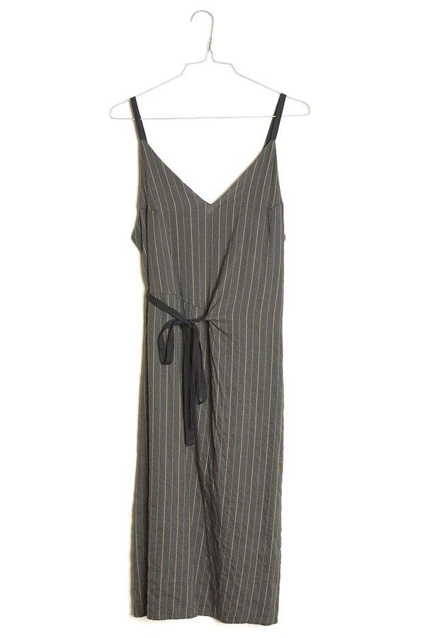 Elsa Esturgie Armure Dress - Anthracite
