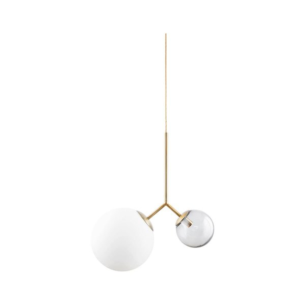 House Doctor Double globe pendant light