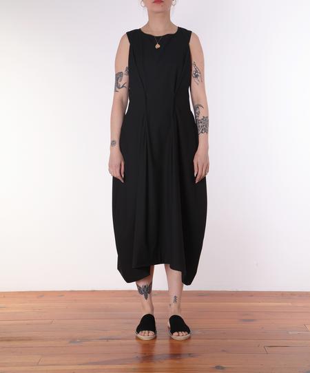 Henrik Vibskov Free Dress - BLACK TEXTURE