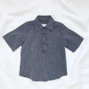 KIDS Devon's Drawer Larkspur shirt