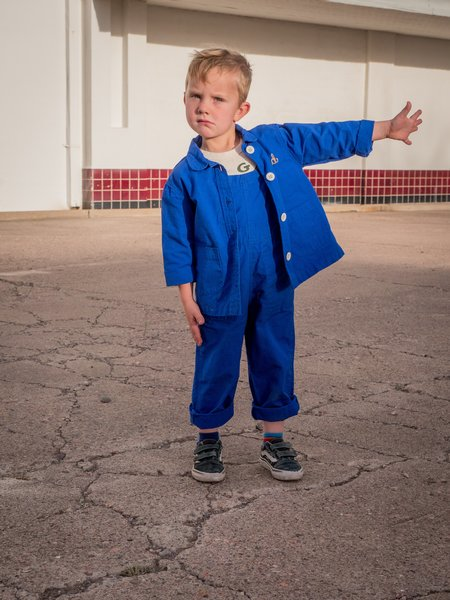 KIDS Hey Gang Chore Coat - Blue Sky