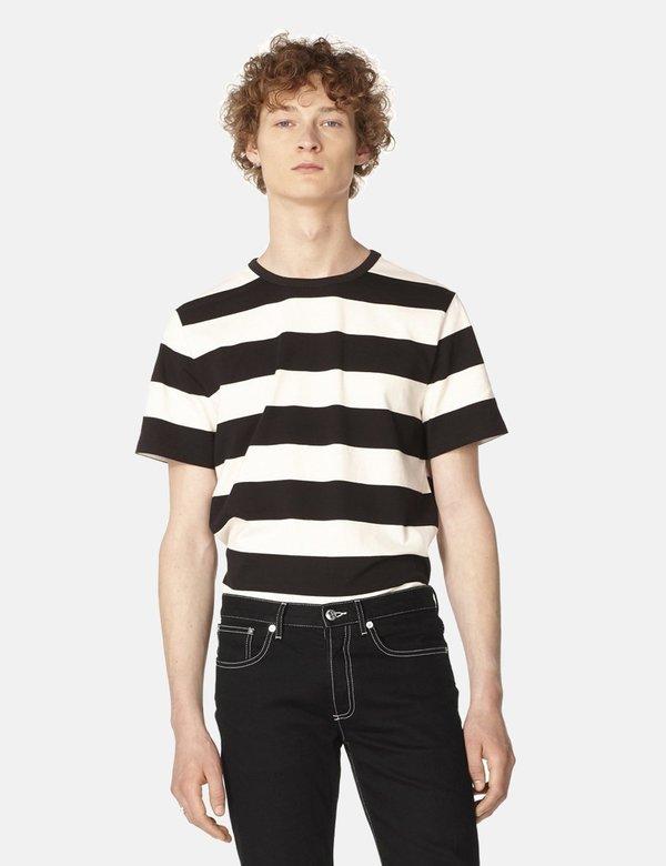 A.P.C. Archie T Shirt - Black/White