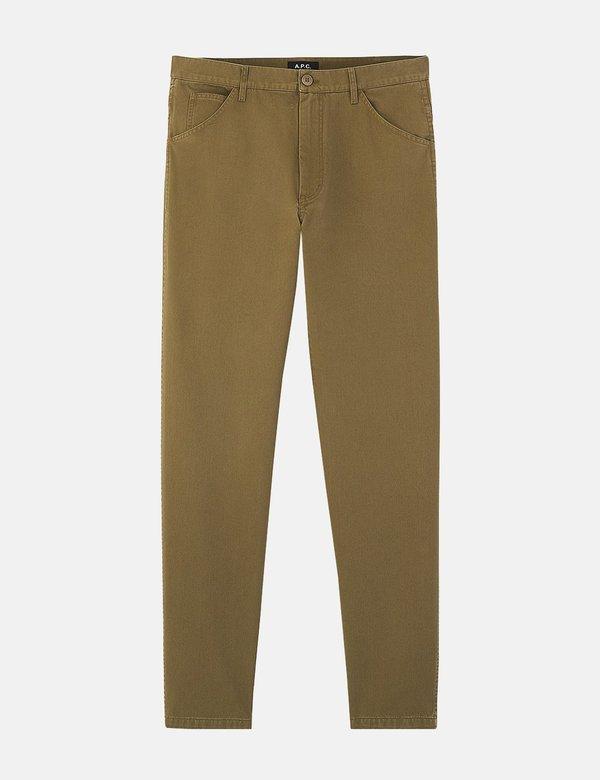 A.P.C. Kingsten Pants - Khaki Brown