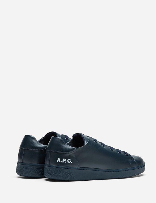 A.P.C. Minimal Shoes - Dark Navy Blue