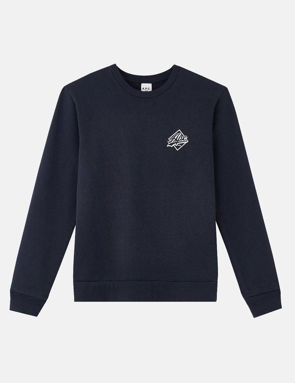 A.P.C. Ryan Sweatshirt - Dark Navy Blue