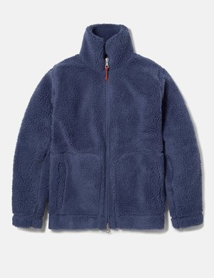 Albam Fleece Zip Jacket - Indigo Blue