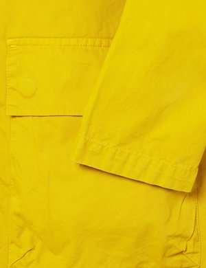 Albam Zipped Hooded Parka - Rich Yellow