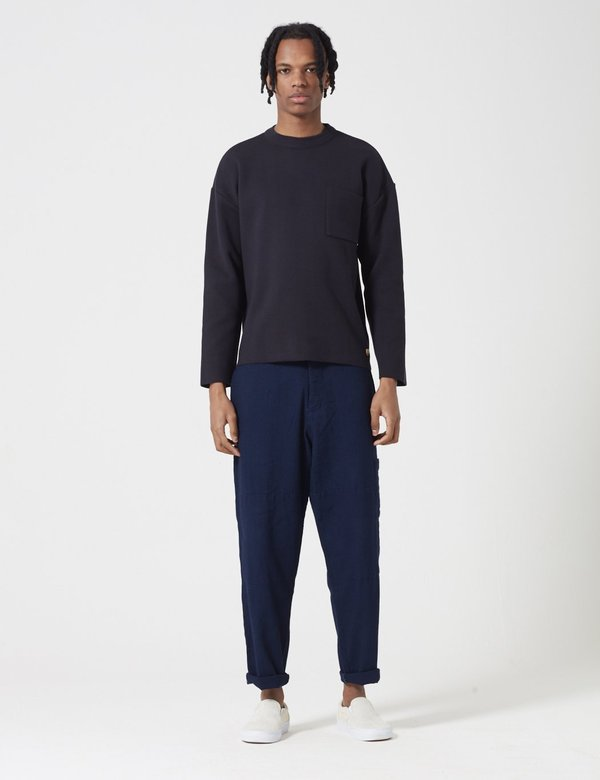 Armor Lux Heritage Knit Jumper - Rich Navy Blue