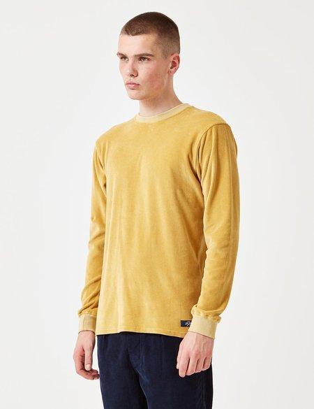 Bleu De Paname Velour Sweatshirt - Yellow