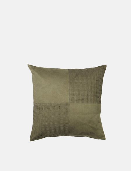 Broste Copenhagen Birla Cushion Cover - Grape Leaf Green