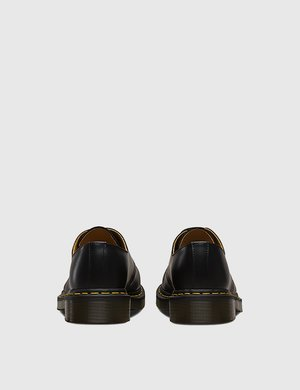 Dr. Martens 1461 Shoes (11838002) - Black Smooth/Yellow Welt Stitching