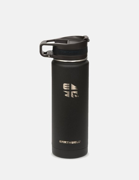 Earthwell Roaster Loop Vacuum Bottle 59cl - Volcanic Black