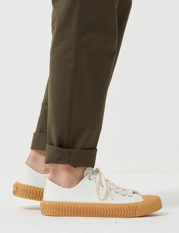 Excelsior Bolt Low Canvas Trainers