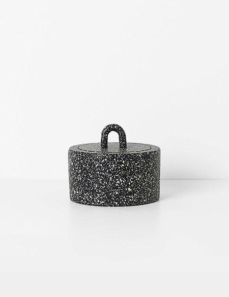 Ferm Living Buckle Jar - Black