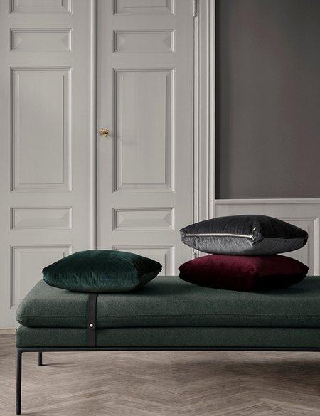 Ferm Living Corduroy Cushion - Dark Green