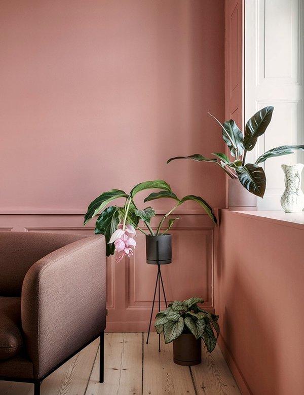 Ferm Living Sekki Large Pot - Charcoal Grey